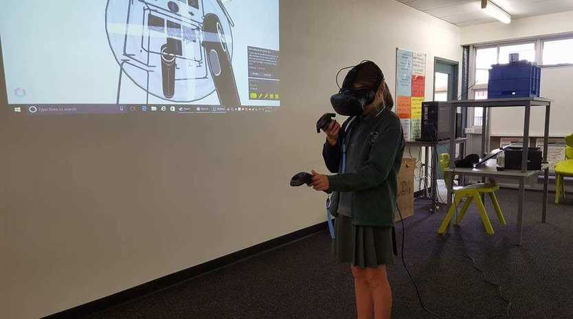 Students' VR art competition: a world first | Sunshine Coast