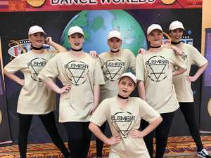 NDSHS's Ellie dances in the USA