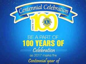 CELEBRATING 100 YEARS LIONS CLUBS INTERNATIONAL.