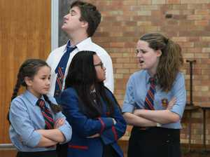 "Downlands Students Present Pratchett Play ""Wyrd Sisters"""