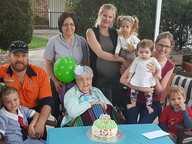 Doris Hancock recently celebrated her 101st birthday.