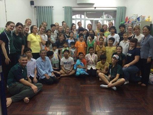 NDSHS Vietnam trip