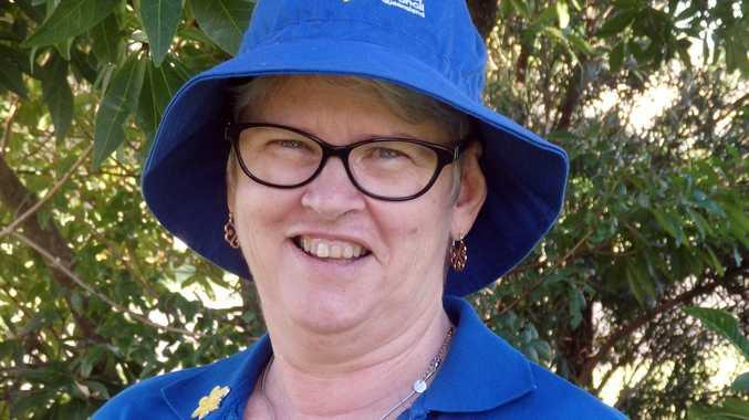 Cancer Council Queensland volunteer Debbie Ayres.
