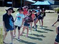 On Friday, boys and girls from Years 3, 4, 5 and 6 at St.