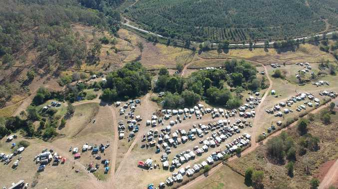 Bluff Creek Campground welcomes groups from all over QLD