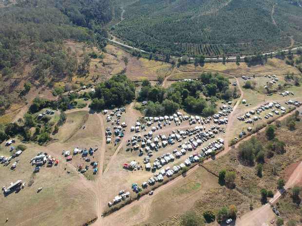Image: Bluff Creek Campground welcomes groups from all over QLD