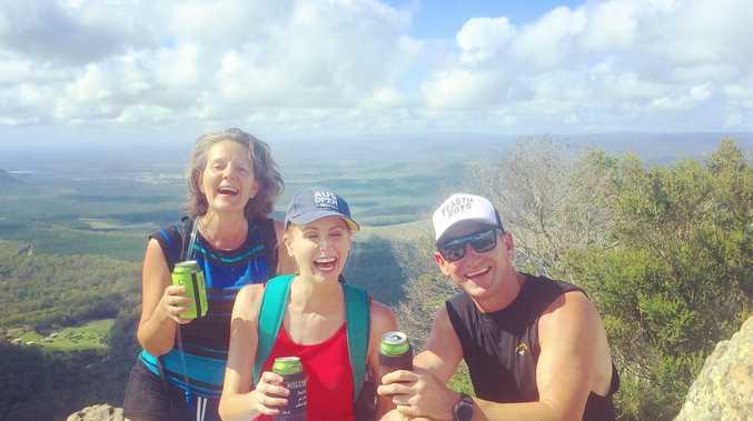 Climbing Beerwah