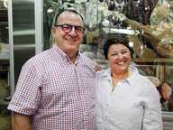 This year, there are special guest judges for the homemade Italian Foods section - Vince and Maria Anello of New Farm Deli, Brisbane.