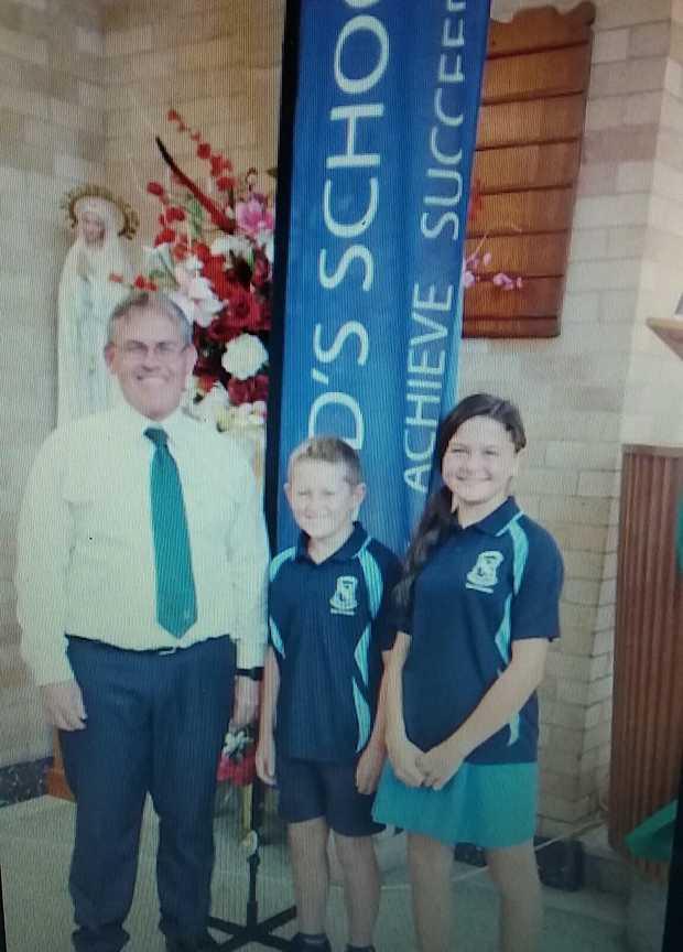 Student Leaders of St. Brigid's Primary School for 2018
