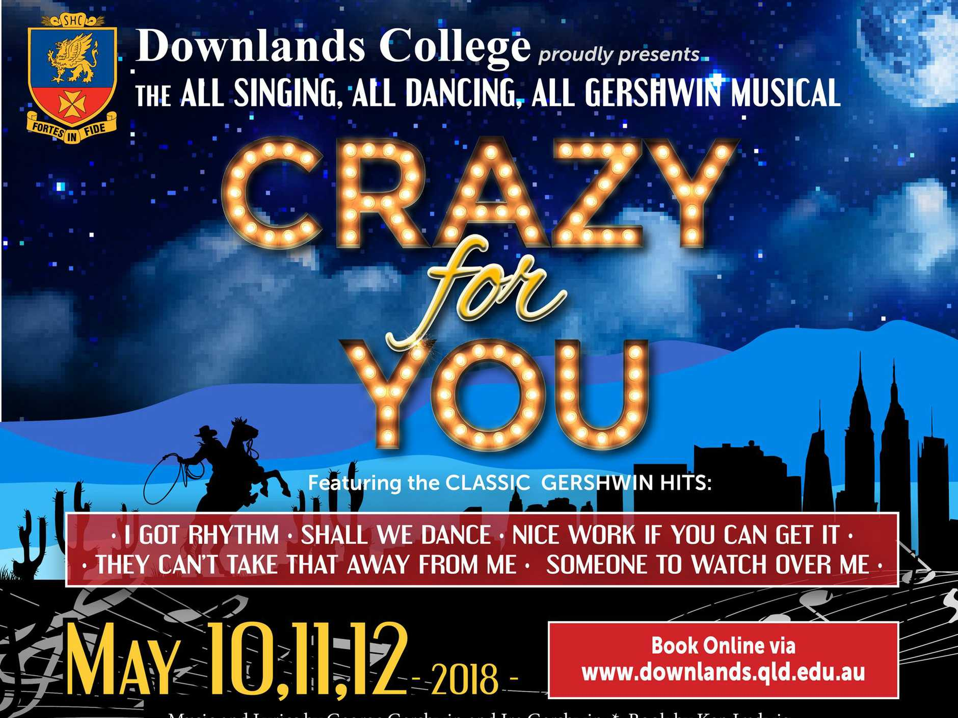 Downlands Brings Beloved Gershwin Musical to Toowoomba