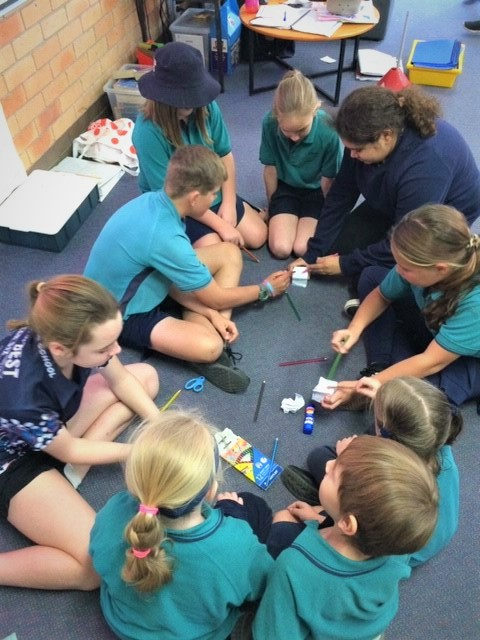Tyalla Primary School students lead their Peer Support group