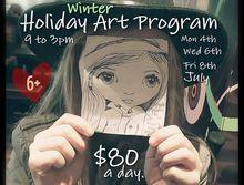 July School Holidays Art Program