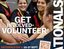 Volunteer for UniSport Australia