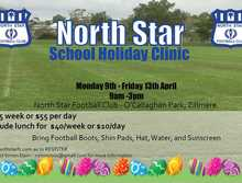 North Star FC Easter School Holiday Clinic