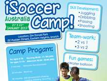 iSoccer Camp Ipswich