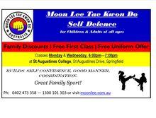 Tae Kwon Do/Self Defence Classes