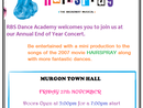 RBS Dance Academy Annual Concert