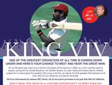 Sir Viv Ricahrds @ Caloundra Cricket Club