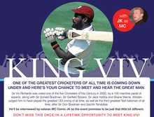 Sir Viv Richards @ Caloundra Cricket Club