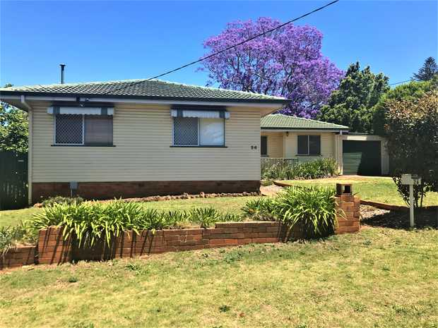 Freshly painted  3 bedroom home -  close to South town Shops and Centenary Heights High School with...