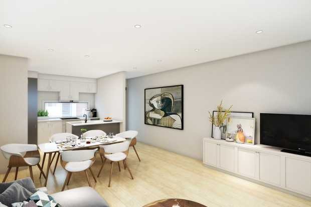 This impressive collection of brand new, architecturally designed town houses in a complex of only...