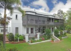 "Baddow House was built in 1883 by Edgar Thomas Aldridge, the ""Founding Father"" of Maryborough.   Chr..."