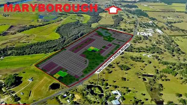 Location - Maryborough on the Fraser Coast.  Developer is making major adjustments to his portfolio...