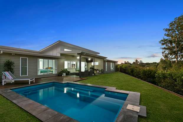 SOLD BY MICHAEL BARR  Architecturally spectacular, this sensational modern residence's eye-catching...