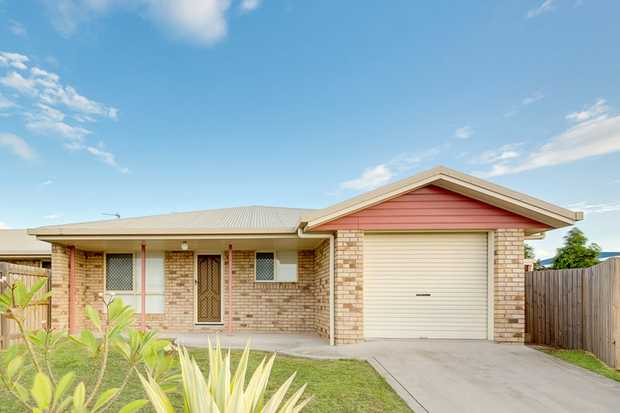 THIS 3 BEDROOM HOME HAS MORE TO OFFER INCLUDING A HUGE UNDER COVERED TILED ENTERTAINMENT AREA. • Air...
