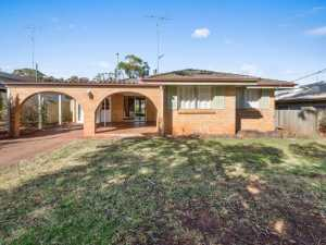 Solid 1970's brick and tiled residence in a great location in Rangeville.  * Large living area with...