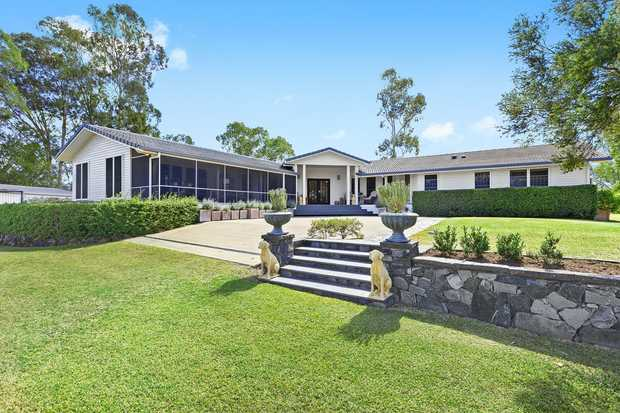 An unparalleled and exceptionally rare offering to the Dalby marketplace. This sophisticated and...
