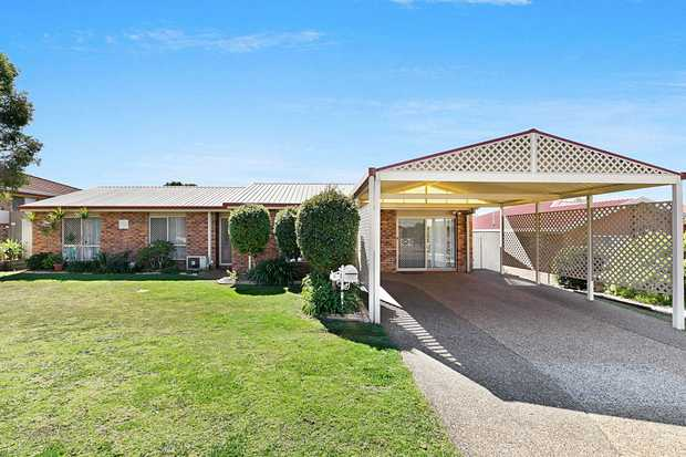 5 Janine Court, Kearneys Spring is a beautifully renovated and exceptionally functional family home...