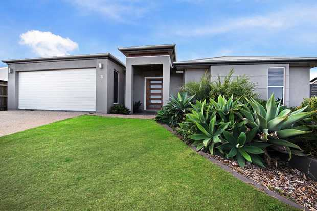 3 McGee Drive, Kearneys Spring has had no expense spared and is a huge comfortable family home set o...