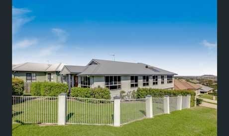 Just on the edge of Mt Kynoch, overlooking Gowrie Junction & beyond, this contemporary split-level home...