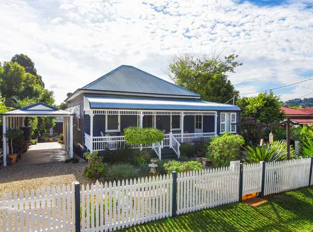 Beyond the cute facade of this classic property resides a home teeming with warmth, character and st...