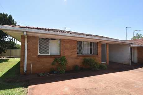 Located in a quiet complex of 3 in Harristown, this tidy brick unit features 2 bedrooms and is close to...
