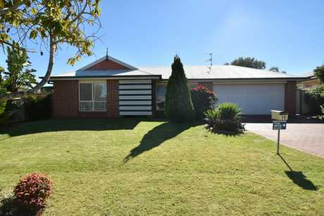 This lowset brick home located in growing Glenvale is situated in close proximity to major shopping...