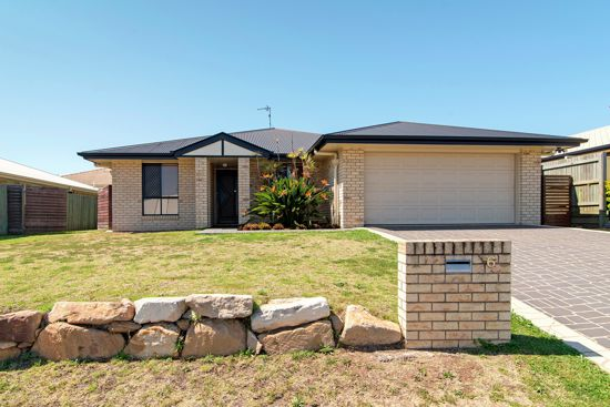 Situated in the sought after suburb of Glenvale is this impressive lowset brick modern home is located...