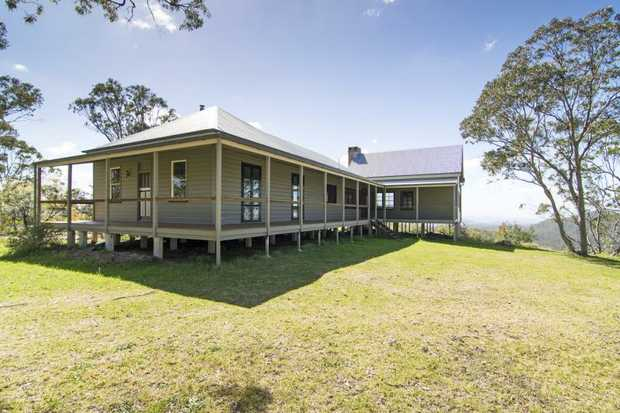 Here's a house you'll be proud to call home, situated on approximately 42 acres and located in...