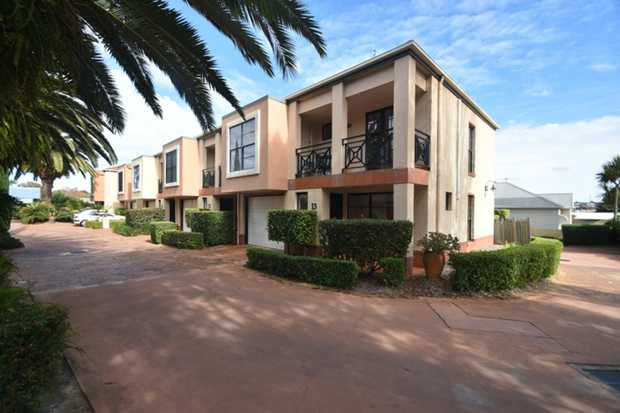 Situated in a stylish complex, this neat townhouse offers all the necessities for a busy lifestyle. So...