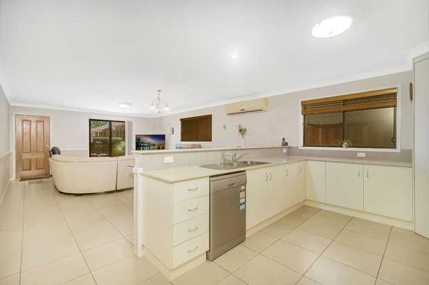 This spacious Villa offers plenty of yard space for the pets and low body corporate fees in an...
