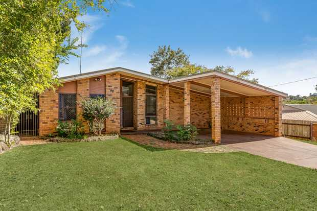 - Spacious brick home
