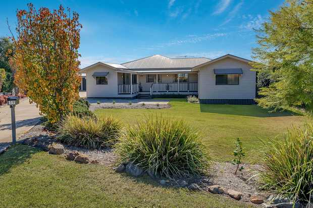A rare find! This stunning home situated on an easy care 1941m2 block with plenty of side access to a...