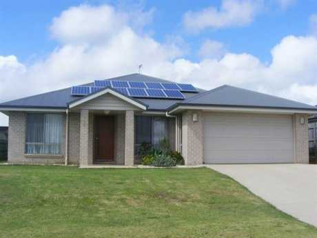 This lowset modern 4 bedroom brick home with solar in prestigious Middle Ridge will sure tick all the...
