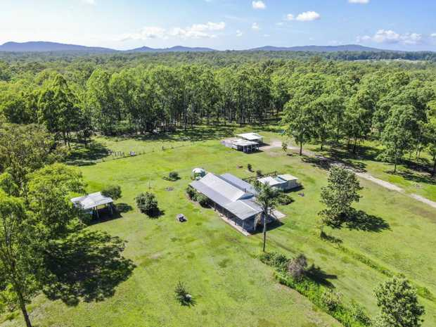 229 Parker Road, Wells Crossing is an amazing opportunity to set yourself up with a private rural...