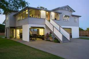 This contemporary Queenslander is truly a one of a kind property. Set on an acre and surrounded by s...