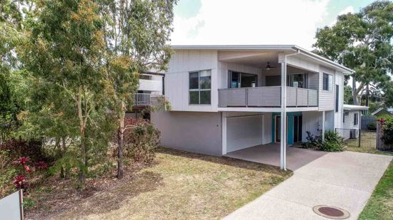 """Located in """"The Beach """" Estate , footsteps from Illawong Beach is this stunning two level four bedroom..."""