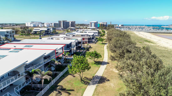 Rarely do such apartments become available for sale: right next to the beach at the Marina, a three...