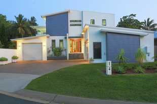 Set in Turtle Place, on offer is this extravagant showcase of innovative contemporary design and pre...