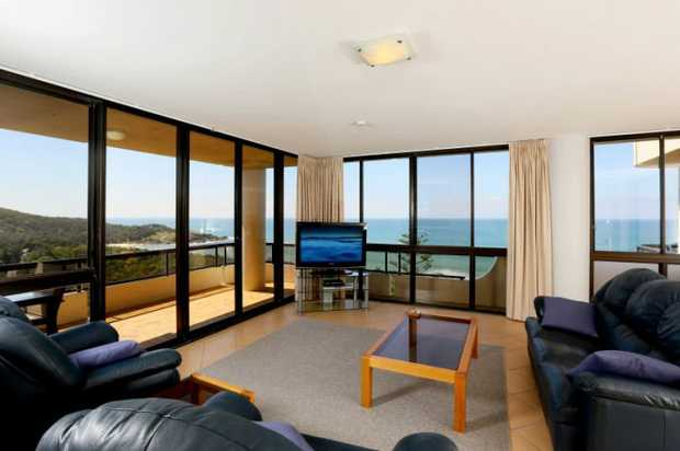 """Own million dollar views for almost half the price. This luxury 2 bedroom apartment in the """"Pacific..."""